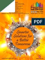 Smart Cities India 2016 Brochure