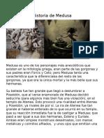 Mito Medusa y Leyenda El Trauco
