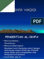 Al-Ikhfa' Haqiqi