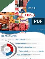 JBS Institutional Presentation including 1Q16 Results