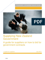 How to Supply NZ Government
