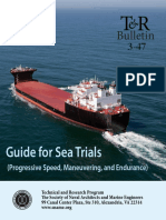Sea Trial Procedure