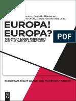 MODERNISM. Europa! Europa?