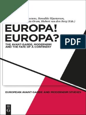 Modernism Europa Europa Modernism Avant Garde