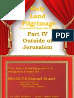 Part IV Holy Land Pilgrimage Israel.pptx