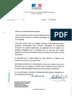 Lettres de Ségolène Royal, ministre de l'Environnement
