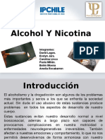 Nicotina y Alcohol