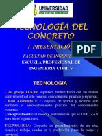 01 Introducción Tecnologia Del Concreto