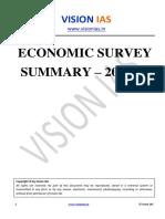 Vision Economic Survey