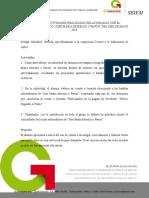 Informe Jose Maria Morelos y Pavon