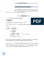 Calculo Integral Capitulo 5 - Sustituciones Trigonometricas