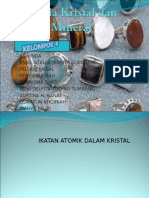 Ikatan Atomik Dalam Kristal