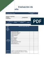 Formulario Evaluación de Desempeño Para Programadores - QA