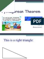 pythagorean theoram