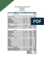 Presupuesto Modificación Obra Nueva 2º Planta Edificio Administrativo