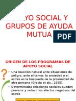 grupos sociales y de ayuda mutua