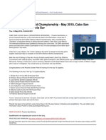 IGFA Offshore World Championship - May 2010, Cabo San Lucas, Baja California Sur