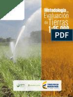 Metodología de Evaluación de Tierras 1-25.000