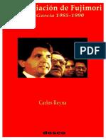 La Anunciación de Fujimori Alan García 1985