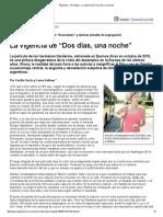 """Página_12 __ Psicología __ La Vigencia de """"Dos Días, Una Noche"""" Nuevo"""