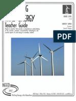 Exploring Wind Energy - Teacher