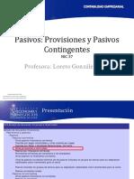 Clase 3 Loreto. Provisiones y Pasivos Contingentes