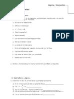 Cap 1 Lógica y Conjuntos