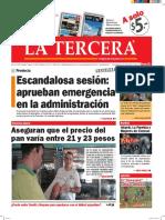 Diario La Tercera 20.05.2016