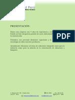 Ficha Tecnica Coberturas - DCT PERU