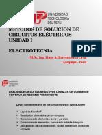 Unidad I - Métodos de Circuitos Eléctricos - Electrotecnia