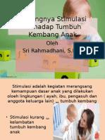 stimulasi anak ppt