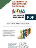 Mecanismos de Participacion Ciudadana y Comunitaria