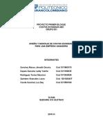 1ra Entrega Costos ABC II Semestre 2015-2