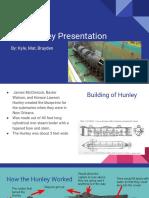 css hunley presentation
