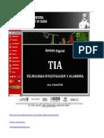 Proceso y Formato Publicacion en La Revista TIA