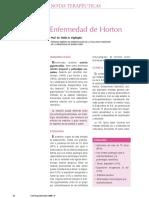 Arteritis de Horton