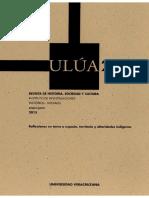 Ulua 25, Revista de Historia, Sociedad y Cultura