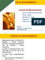 2014-1 Mante Control Del Mantenimiento