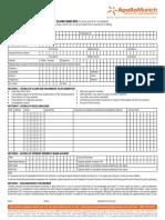 OPD Claim Form