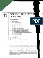 Teoria Fundicion y Moldeo Procesos de Manufactura