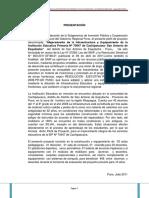PIP institucion educativa Primaria de San Antonio de Esquilache