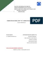 Trabajo Finanzas I (Crisis 1994 vs Crisis 2010)