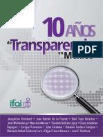 10 Años de Transparencia en México