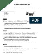 FTD Protozoários e Algas 301