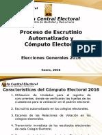 Proceso De Voto Electrónico o Voto Automático   @RRosarioMarquez
