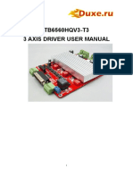 3 Axis TB6560 Red