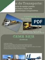 UNIDADES DE TRANSPORTES, CONCLUSIONES Y RECOMENDACIONES