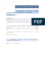 Organização Dos Estados Federativos Webaulas