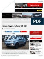 31 July 2015 Review - Toyota Fortuner 3.0 v At
