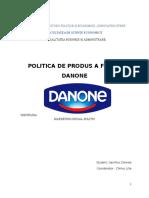 Politica de Produs Proiect